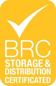 BRC Storage & Distribution Logo